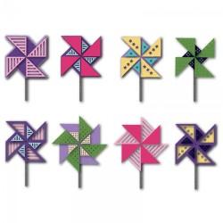 Fustella Sizzix Triplits - Pinwheels