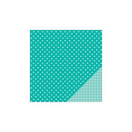 Cartoncino american craft - Aqua dot