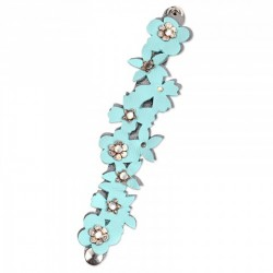 Fustella Sizzix Movers & Shapers Magnetic Die - Bracelet, Floral