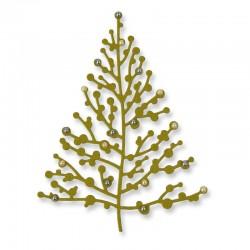 Fustella Sizzix Thinlits - Treetops Glisten