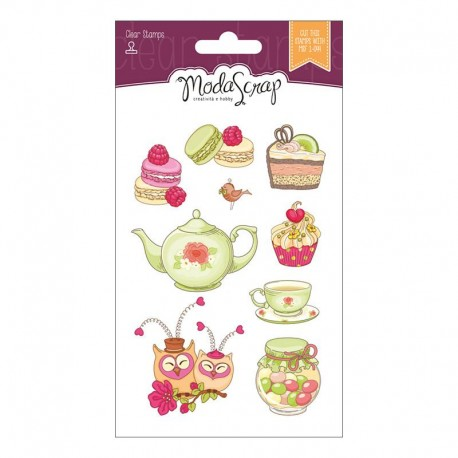 Timbro Clear ModaScrap Clear Stamps - Cucina With Love