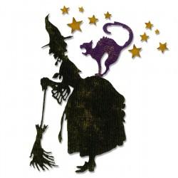 Fustella Sizzix Thinlits T.Holtz - Witchcraft