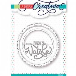 Fustella La Coppia Creativa Buon Natale 3