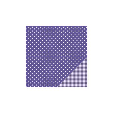 Cartoncino american craft - Purple dot
