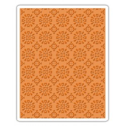 Embossing Folder Tim Holtz - Rosettes