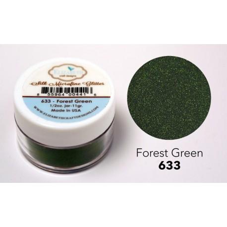 Silk Microfine Glitter - Forest Green