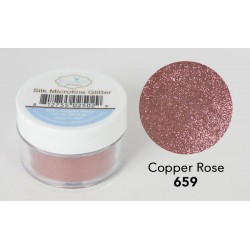 Silk Microfine Glitter - Copper Rose