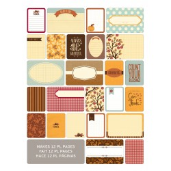 Kit 60 carte - Becky Higgins - Fall