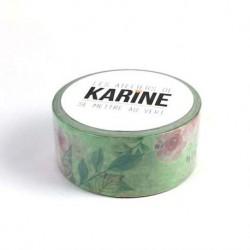 Washi tape-Karine Cazenave-Tapie - Floral