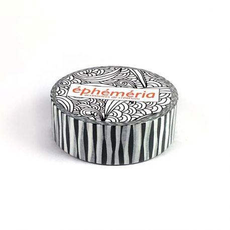Washi Tape - Kesi'Art - Stripes Grey