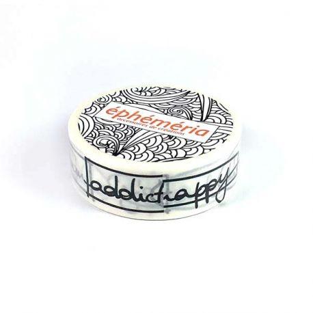 Washi Tape - Ephéméria - Bulles de mots