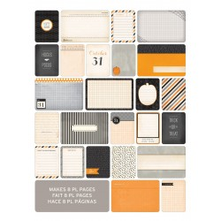 Kit 40 carte - Becky Higgins - Halloween