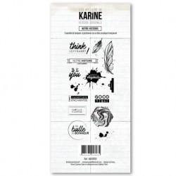 Timbro clear - Les Ateliers de Karine - Notre histoire