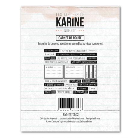 Timbro clear - Les Ateliers de Karine - Carnet de route