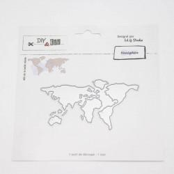 Fustella DYE & Cie - Planisphère