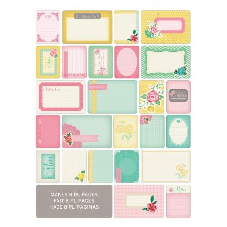 Kit 40 carte - Becky Higgins - Mom