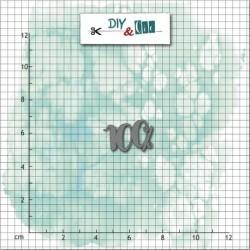 Fustella DYE & Cie - Mini die- 100%