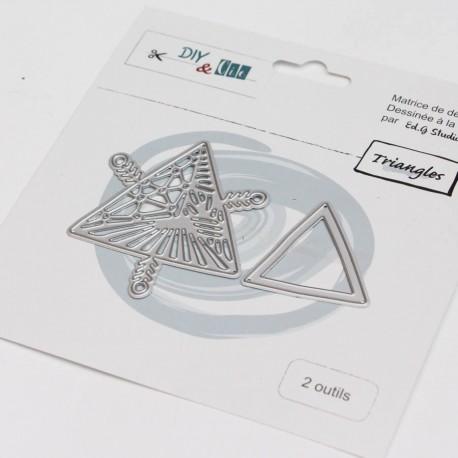 Fustella DYE & Cie - Triangles