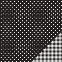 Cartoncino american craft - Black dot