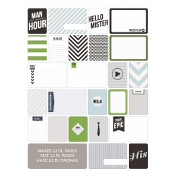 Kit 60 carte - Becky Higgins - MansWorld