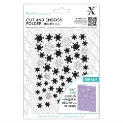 Cut and Embossing Folder Docrafts - Xcut - Let it Snow
