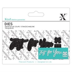 Fustelle Xcut - Mini Sentiments - Just for You