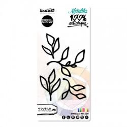 Fustella Kesi'Art - 100% Artistique - FEUILLAGES