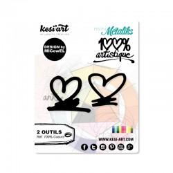 Fustella Kesi'Art - COEURS  -  100% Artistique