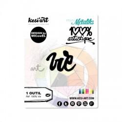 Fustella Kesi'Art - VIE  -  100% Artistique