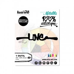 Fustella Kesi'Art - STREET LOVE  -  100% Artistique