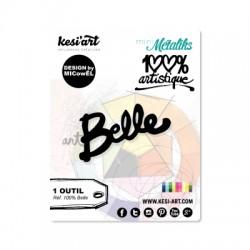 Fustella Kesi'Art - BELLE  -  100% Artistique