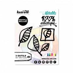 Fustella Kesi'Art - FEUILLES  -  100% Artistique