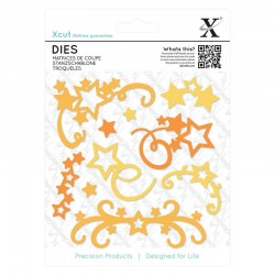 Fustelle Xcut -  Dies  - Star Flourish