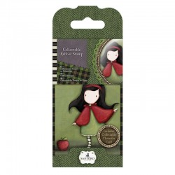 Timbro cling Docrafts - Santoro - Little Red