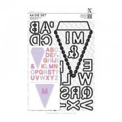 Fustelle Xcut - A4 - Alphabet Bunting