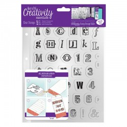 Timbro clear Docrafts - Alphabet