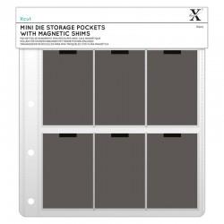 Mini Die Storage Wallets  Docraft-  Xcut- Buste con magnete per Raccoglitore per fustelle