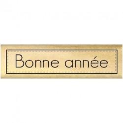 Timbro legno Florileges - ÉTIQUETTE BONNE ANNÉE