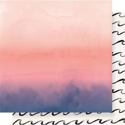 """Crate Paper 12"""" x 12""""  OASIS - Sunset"""