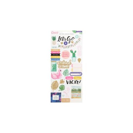 Stickers Oasis - Crate Paper