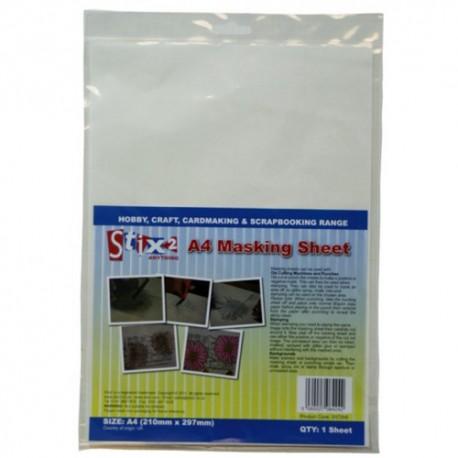 A4 Masking Sheet  Foglio per mascherature - Stix2