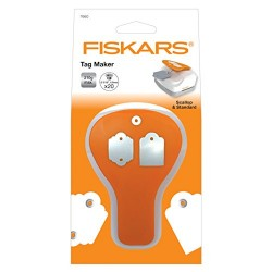 Punch Fiskars - Tag Maker - Scallop & Standard