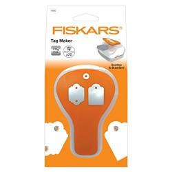 Punch Fiskars - Tag Maker - Scallop & Standard