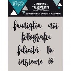 Timbro clear Florileges - Paroline 1