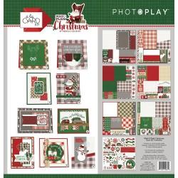 Kit carte PhotoPlay - PLAID CHRISTMAS -CARD KIT
