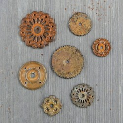 Mechanicals - Rustic Washers - Prima Marketing - Finnabair
