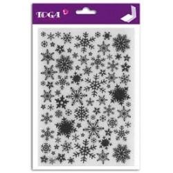 Embossing Folder Toga - Fiocchi di Neve