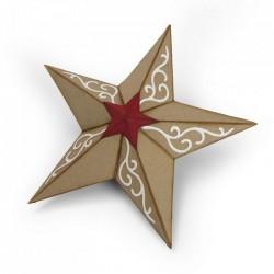 Fustella Sizzix Bigz - Christmas Star, 3-D