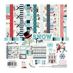 Carta bella 6x6 pad - Snow Fan