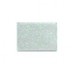Gomma crepla  bianco glitter olografico